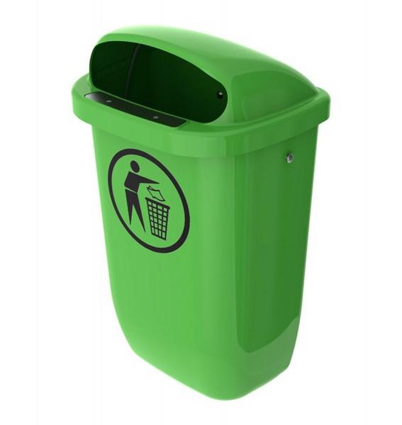 Abfallbehälter Standard (RAL 6017 - maigrün)
