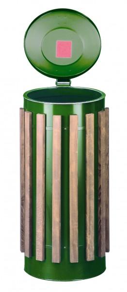 Abfallbehälter Kompakt-Doppeltür-Luxus