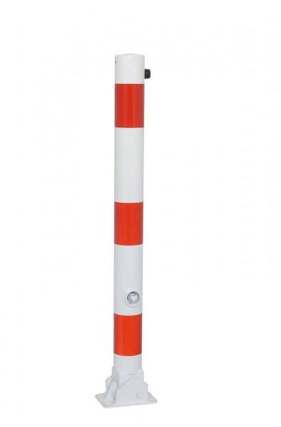 Absperrpfosten Ø 76 mm - umlegbar