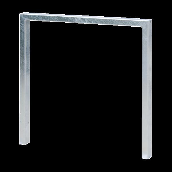 Anlehnbügel Quadro - 60 x 40 mm