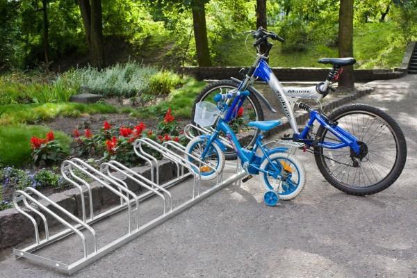 Fahrradständer Geo - verschweißt