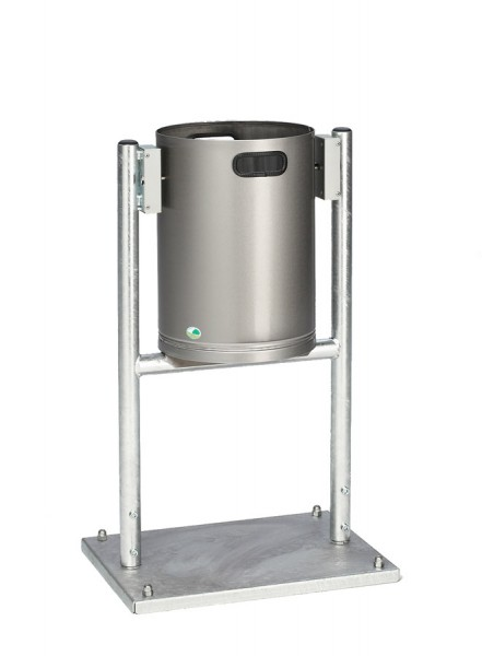 Abfallbehälter AG 04 - Edelstahl