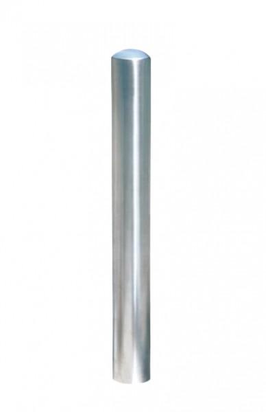 Edelstahlpoller Sinus Ø 76 mm - Kappe poliert