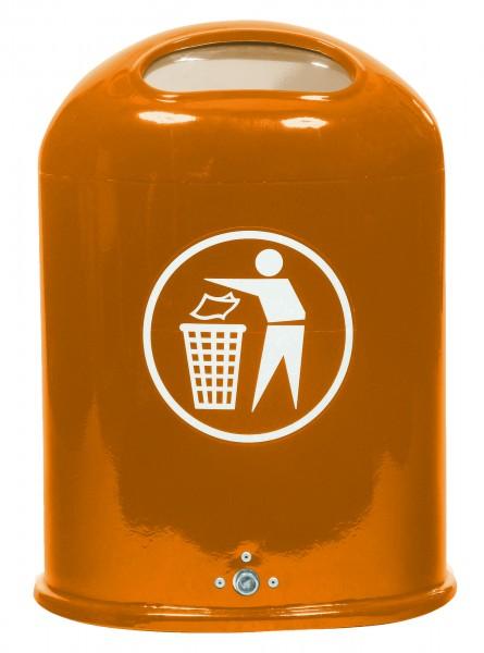 Abfallbehälter Sumba mit Federklappe