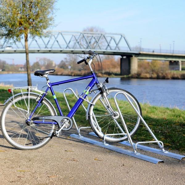 Fahrradständer Loki - links