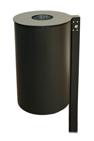 Abfallbehälter Flores II - mit Gaszugfeder