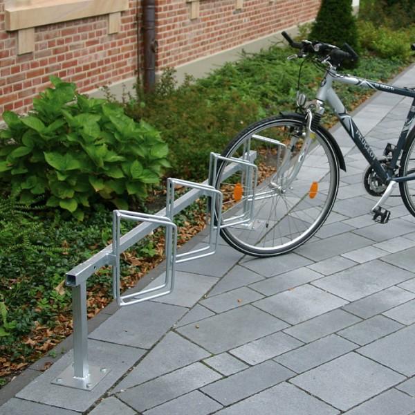 Fahrradständer Als - 45° rechts