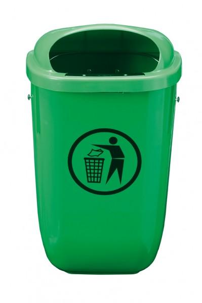 Abfallbehälter PE - Inhalt 50 Liter