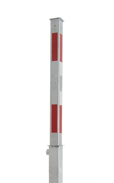 Absperrpfosten 70 x 70 mm versenkbar
