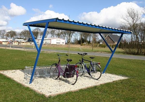 Fahrradüberdachung Alva