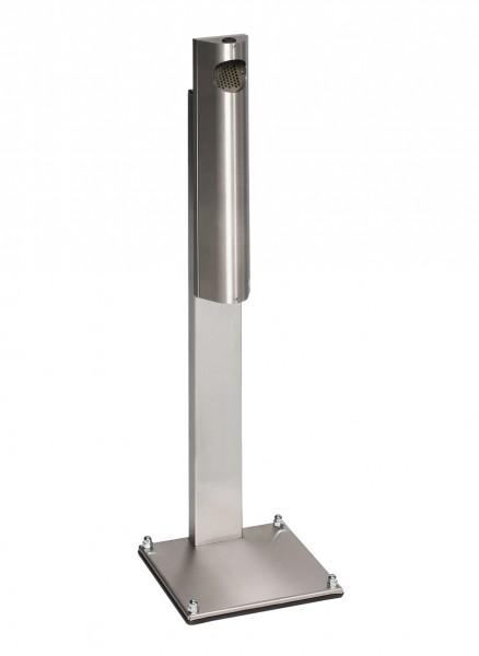 Standascher B 12 - Edelstahl - abschließbar